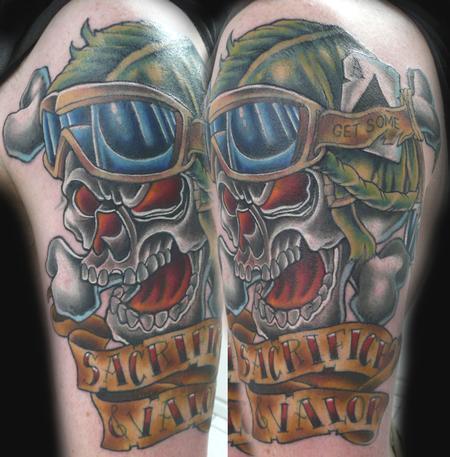 tattoos/ - Skull Tattoo - 66737