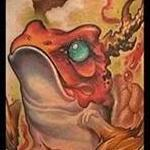 Frog Collaboration Tattoo Tattoo Design Thumbnail
