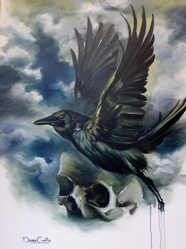 Art Galleries - Raven and Skull - 60342