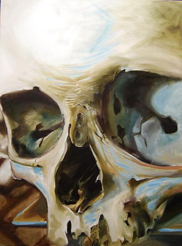 Art Galleries - Skull Oil Painting - 60341