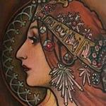 tattoos/ - Mucha-inspired - 100440
