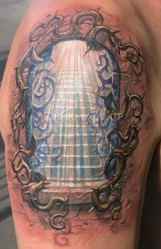 Looking for unique  Tattoos? Gates of Heaven