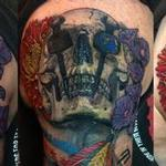 Chicago Blackhawks Iron Worker Skulls Tattoo Design Thumbnail