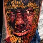 The Wolf Man Tattoo Design Thumbnail