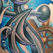 New School Anchor Tattoo Original Art Thumbnail