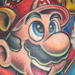 Nintendo Half Sleeve Tattoo Design Thumbnail