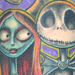 Nightmare Before Christmas Sleeve Original Art Thumbnail