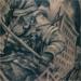 tattoo galleries/ - Firefighter ladder sleeve (outside)