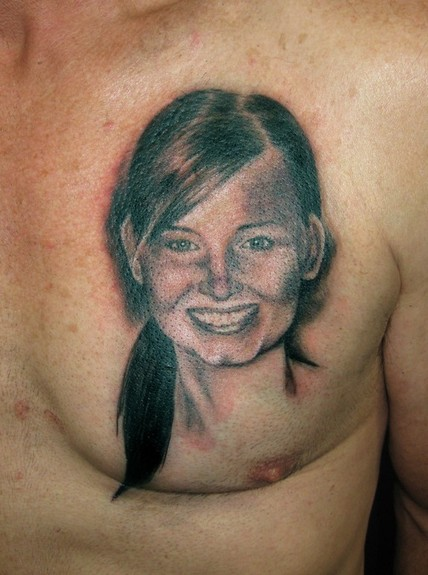 tattoos/ - Girl Portrait Tattoo - 52064