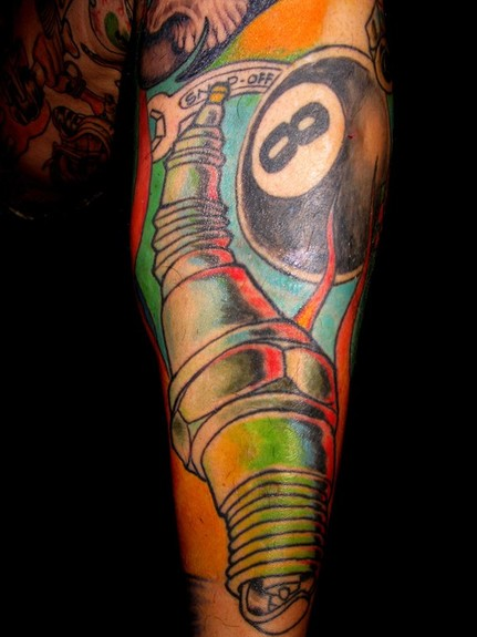 tattoos/ - Spark Plug Tattoo - 52065