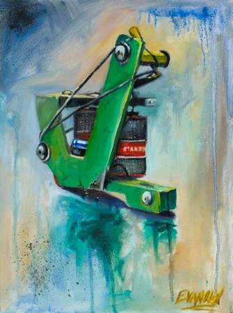 Art Galleries - green monster - 36986