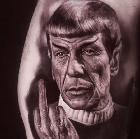 tattoos/ - Spock Tattoo - 136097