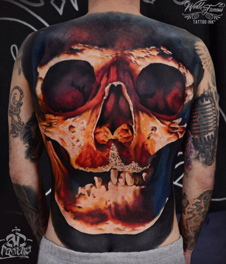 tattoos/ - Skull Backpiece - 112304