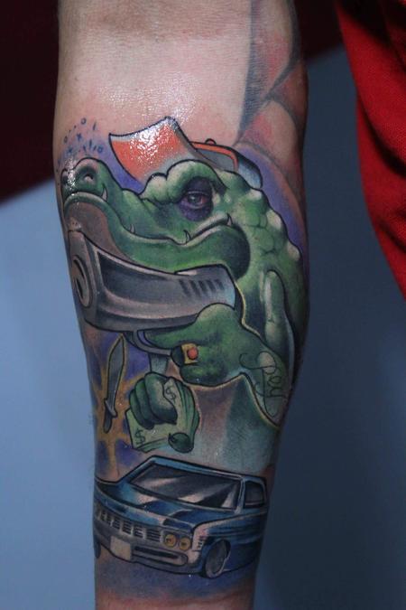 tattoos/ - Crocodile  - 114443