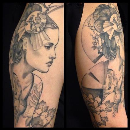 tattoos/ - Ornamental Lady - 101664