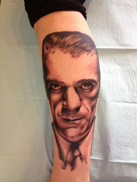 Portrait - Boris Karloff portrait