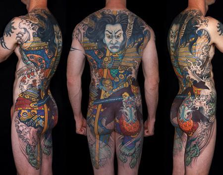 tattoos/ - Tairano Tomomori Japanese back piece - 129170