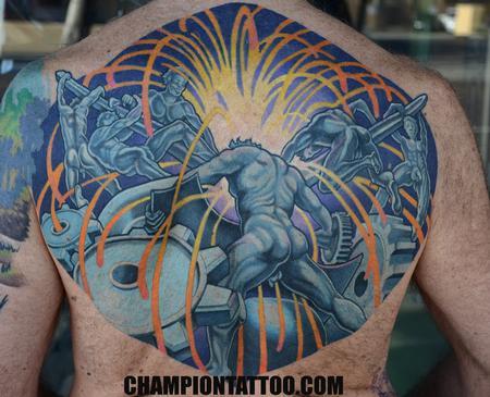 tattoos/ - Mech Men - 107943