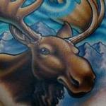 Chesty La Moose Tattoo Design Thumbnail