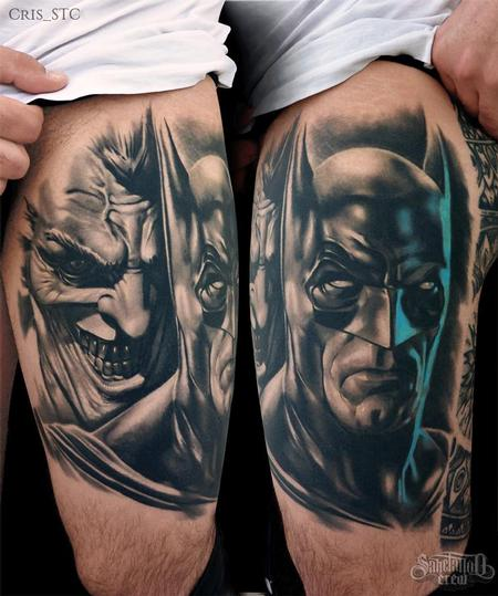tattoos/ - Batman & Joker - 102209