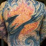 Guy's Back Tattoo Design Thumbnail