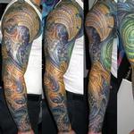 BIOMECH SLEEVE Tattoo Design Thumbnail