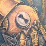 Mecha squid vs Megashark Tattoo Design Thumbnail