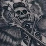 Death Head Moth Tattoo Design Thumbnail