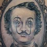 Edgar Allen Dali Tattoo Design Thumbnail