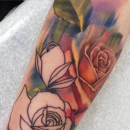 tattoos/ - Rose Closeup - 117705