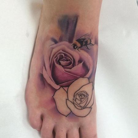 tattoos/ - Soft Rose - 117706