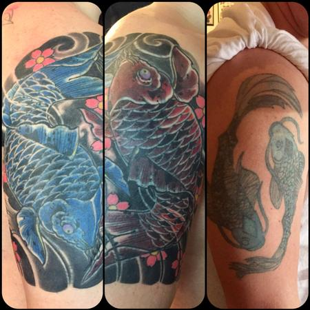 Ying Yang - Very big cover up���-all healed