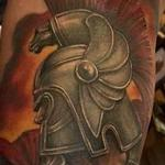 Spartan Warrior Tattoo Design Thumbnail