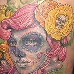 Dia de los Muertos Tattoo Design Thumbnail