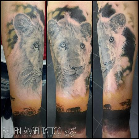 tattoos/ - The Lion Michael - 100042
