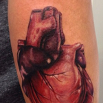 Anatomical Heart  Tattoo Design Thumbnail