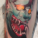Hannya Mask Tattoo Design Thumbnail