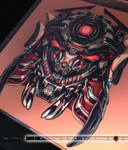 Art Galleries - Mechanic Samurai - 119963