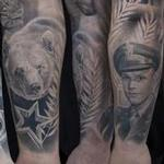 HEALED SLEEVE Tattoo Design Thumbnail