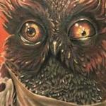 Owl with insomnia Tattoo Design Thumbnail