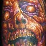 Evil Zombie Tattoo Tattoo Design Thumbnail