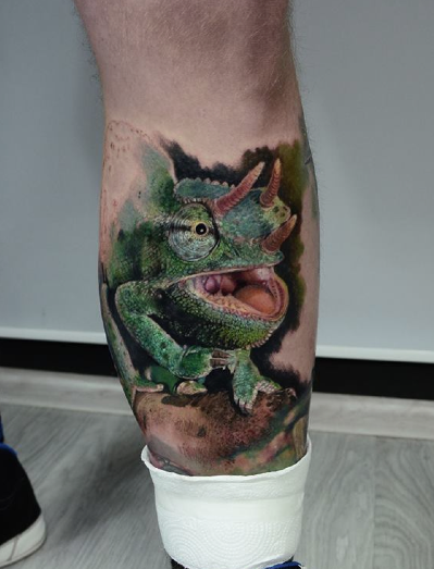 tattoos/ - Chameleon - 114512