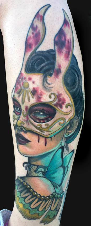 tattoos/ - Bunny Splicer Bioshock tattoo - 100433