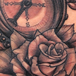 Compass and Rose tattoo Tattoo Design Thumbnail