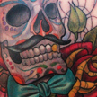 Day of the dead skull tattoo Tattoo Design Thumbnail