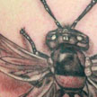 Wasp with 6 wings tattoo Tattoo Design Thumbnail