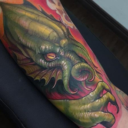 tattoos/ - Cthulhu tattoo - 133099