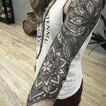 tattoos/ - Mandala 3/4 sleeve  - 123100