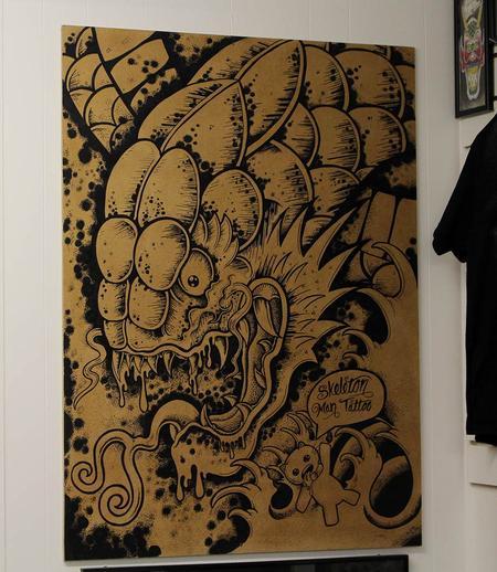 Art Galleries - sharpie monster  - 117300