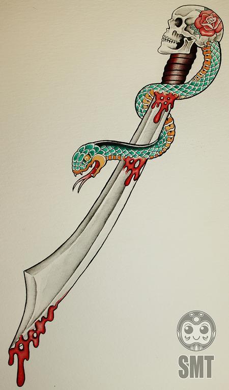Art Galleries - Skull Sword - 112296